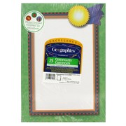 A4 Sheet Educational Certificate With Stickers Pk25