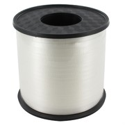 Ribbon Curling 500Yds 5mm White Pk1