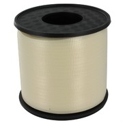Ribbon Curling 500Yds 5mm Eggshell Pk1
