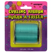 Ribbon Curling 100Yds 5mm Green Pk1