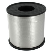 Ribbon Curling 500Yds 5mm Silver Pk1