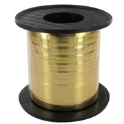 Ribbon Curling 250Yds 5mm Metallic Gold Pk1