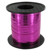 Ribbon Curling 250Yds 5mm Metallic Pink Pk1