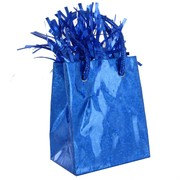 Balloon Weight Giftbag Prismatic Royal Blue Pk1