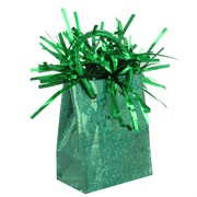 Balloon Weight Giftbag Prismatic Forest Green Pk1