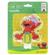 Elmo Party Candle Pk1