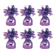 Lavender Balloon Weight - Pudding Pk 6