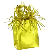 Balloon Weight Giftbag Gold Pk1