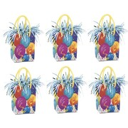 Balloons Giftbag Balloon Weight Pk 6