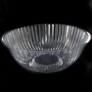 Clear Plastic  Bowl -  Medium 17cm Pk1