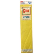 Crepe Paper Gala 240x50cm Canary Yellow Pk1