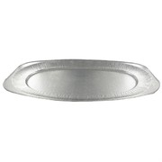 Platter Foil Oval Sq End Large 55x36cm Pk1