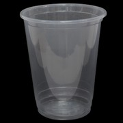 Clear Plastic Cups - 425ml Pk 50