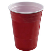 Red Plastic Party Cup Cups (532ml) Pk 200