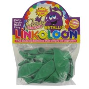 Balloon Link-O-Loon Metallic Green Pk16