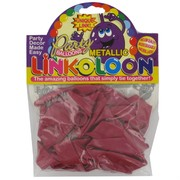 Balloon Link-O-Loon Metallic Fuchsia Pk16