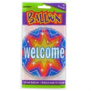 Balloon Foil 18in Dazzle Welcome Pk1