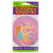 Balloon Foil 18in It's A Girl Pk1