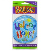 Balloon Foil 18in Welcome Home Pk1
