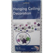 Hanging 21 Ceiling Decoration Pk 1