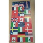 Jointed Pull-Down International Flag Cutout (1.83m) Pk 1