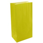 Bags Party Sunny Yellow Paper Pk12