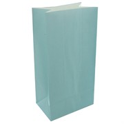 Pale Blue Paper Lolly Bags Pk12