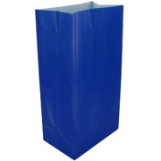 Bags Party Royal Blue Paper Pk12
