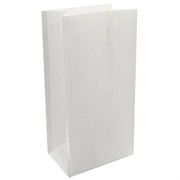 Bags Party White Paper Pk12