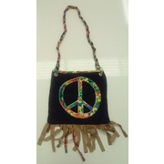 Hippie Handbag Costume Accessory Pk 1