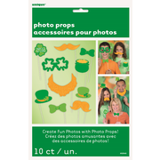 St Patrick's Day Photo Prop Decorations Pk 10