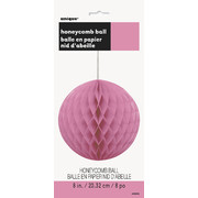 Hot Pink Honeycomb Ball Decoration (20cm) Pk1