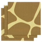 3Ply Cocktail Napkins Giraffe Print Pk16
