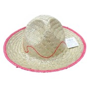 Child Straw Sombrero Hat Pk 1