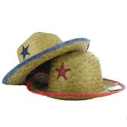 Child Straw Sheriff Hat Pk 1
