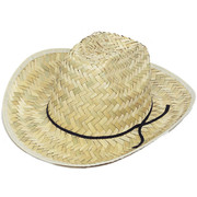 Straw Cowboy Hat (Child) Pk 1