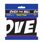 Over the Hill Party Tape (6.1m) Pk 1