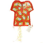 Hawaiian Shirt Pull-String Pinata -Pop-Out Pk 1