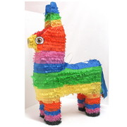 Mexican Burro Pinata Assorted Colours Pk 1
