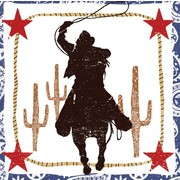 Rodeo Guy Western Lasso 3Ply Lunch Napkins Pk16