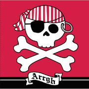 Pirate Parrty (Boy) 3Ply Lunch Napkins Pk 16