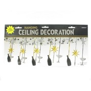 Champagne New Year 3.66m Hanging Ceiling Decoration Pk1