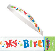 Its My Birthday Satin Sash Pk 1