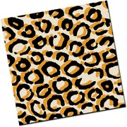 Chocolate Transfer Sheet Leopard Print Pk1