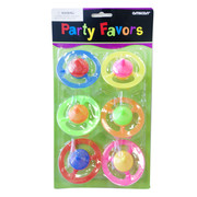 Disc Spinning Top Party Favours Pk 6