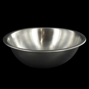 Stainless Steel Heavy Duty Party Bowl - Mixing 0.5L Pk1