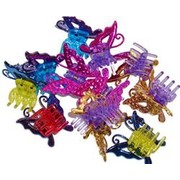 Butterfly Hair Clip Party Favours Pk 90