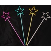 Mini Star Wand Party Favours Pk 80 (Pink & Silver)