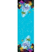 Ocean Party Plastic Tablecover 137x274cm Pk 1