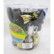 Gold and Silver Trophy Favours Pk 12